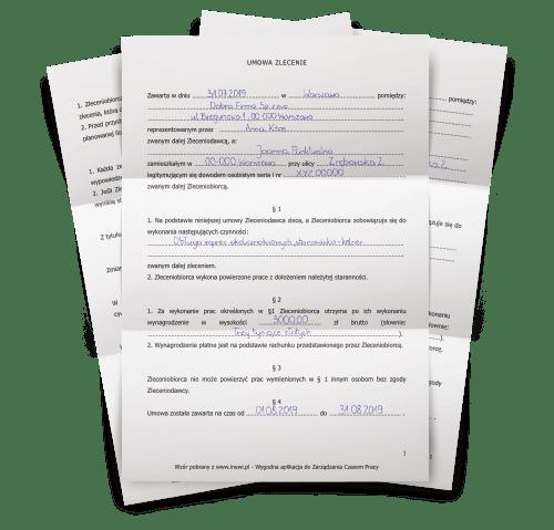 Umowa zlecenie - inEwi