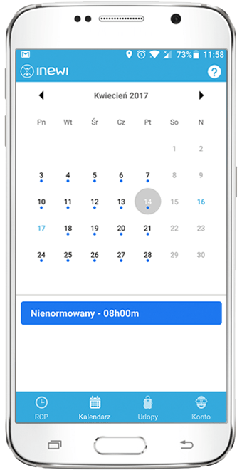 Harmonogram Pracy Aplikacja Mobilna