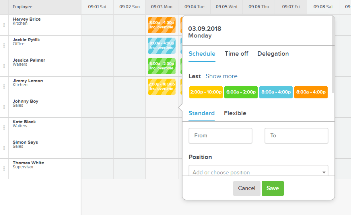 online shift planning  u0026 staff scheduling app